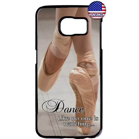 Dance Like a Ballerina Ballet Dancer Rubber Case Cover For Samsung Galaxy