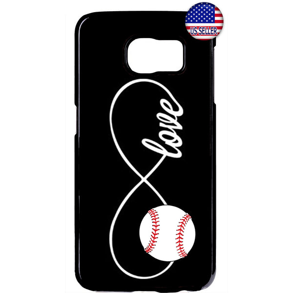 Infinite Forever Love Baseball Sports Rubber Case Cover For Samsung Galaxy