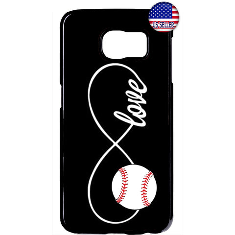 Infinite Forever Love Baseball Sports Rubber Case Cover For Samsung Galaxy Note