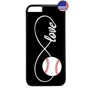 Infinite Forever Love Baseball Sports Rubber Case Cover For Iphone
