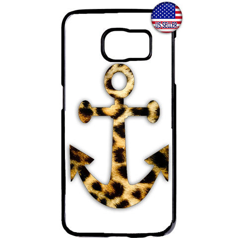 Cheetah Leopard Anchor Tiger Wild Animal Rubber Case Cover For Samsung Galaxy