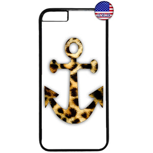 Cheetah Leopard Anchor Tiger Wild Animal Rubber Case Cover For Iphone