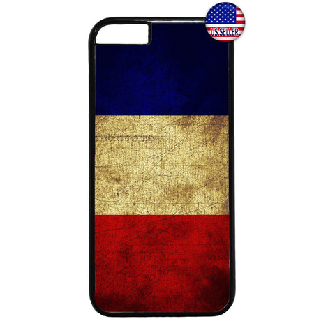 Grunge France Flag French Pride Rubber Case Cover For Iphone