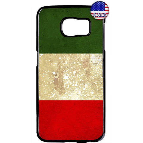 Grunge Italy Flag Italian Pride Rubber Case Cover For Samsung Galaxy