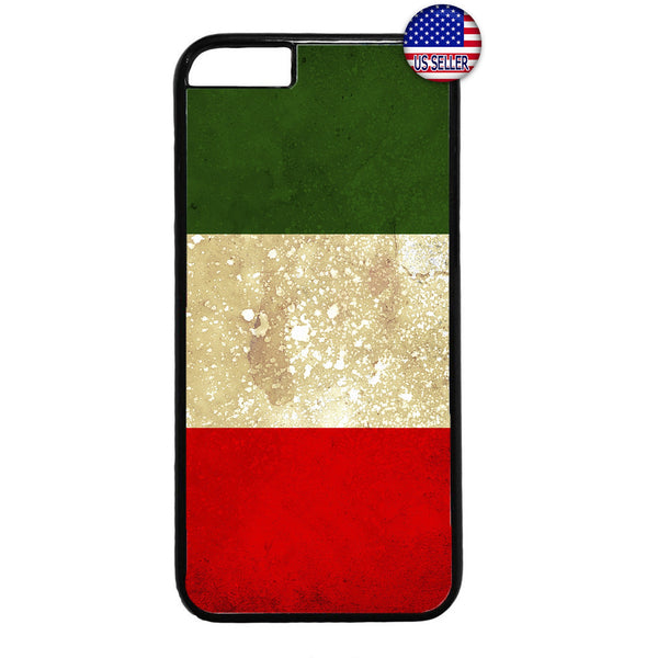 Grunge Italy Flag Italian Pride Rubber Case Cover For Iphone