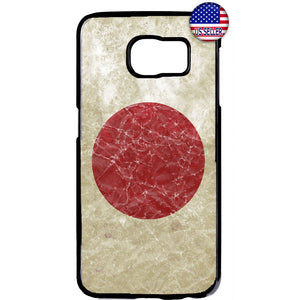 Grunge Japan Flag Red Sun Japanese Pride Rubber Case Cover For Samsung Galaxy Note