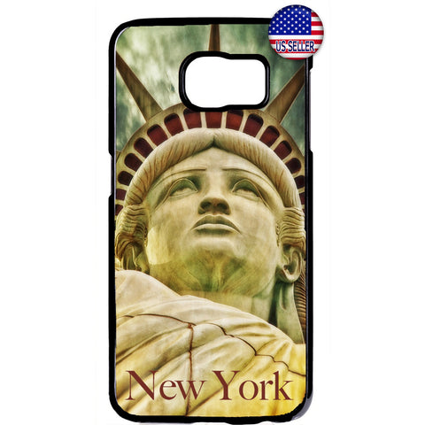 Statue of Liberty New York United States Rubber Case Cover For Samsung Galaxy
