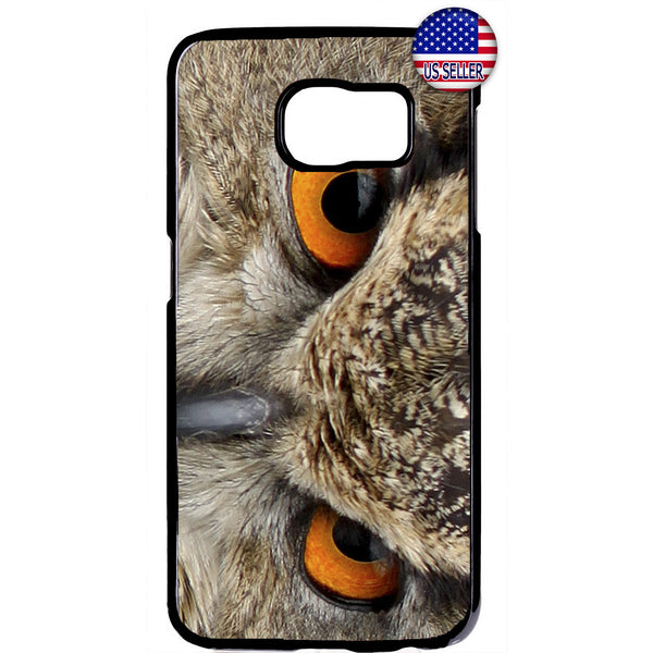Owl Eyes Night Creature Wings & Feathers Rubber Case Cover For Samsung Galaxy Note