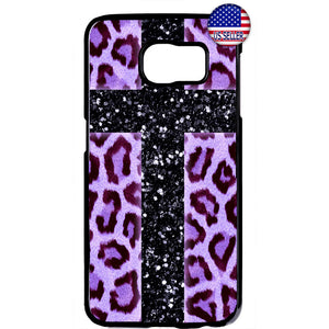 Pink Leopard Cross Print Wild Animal Rubber Case Cover For Samsung Galaxy Note