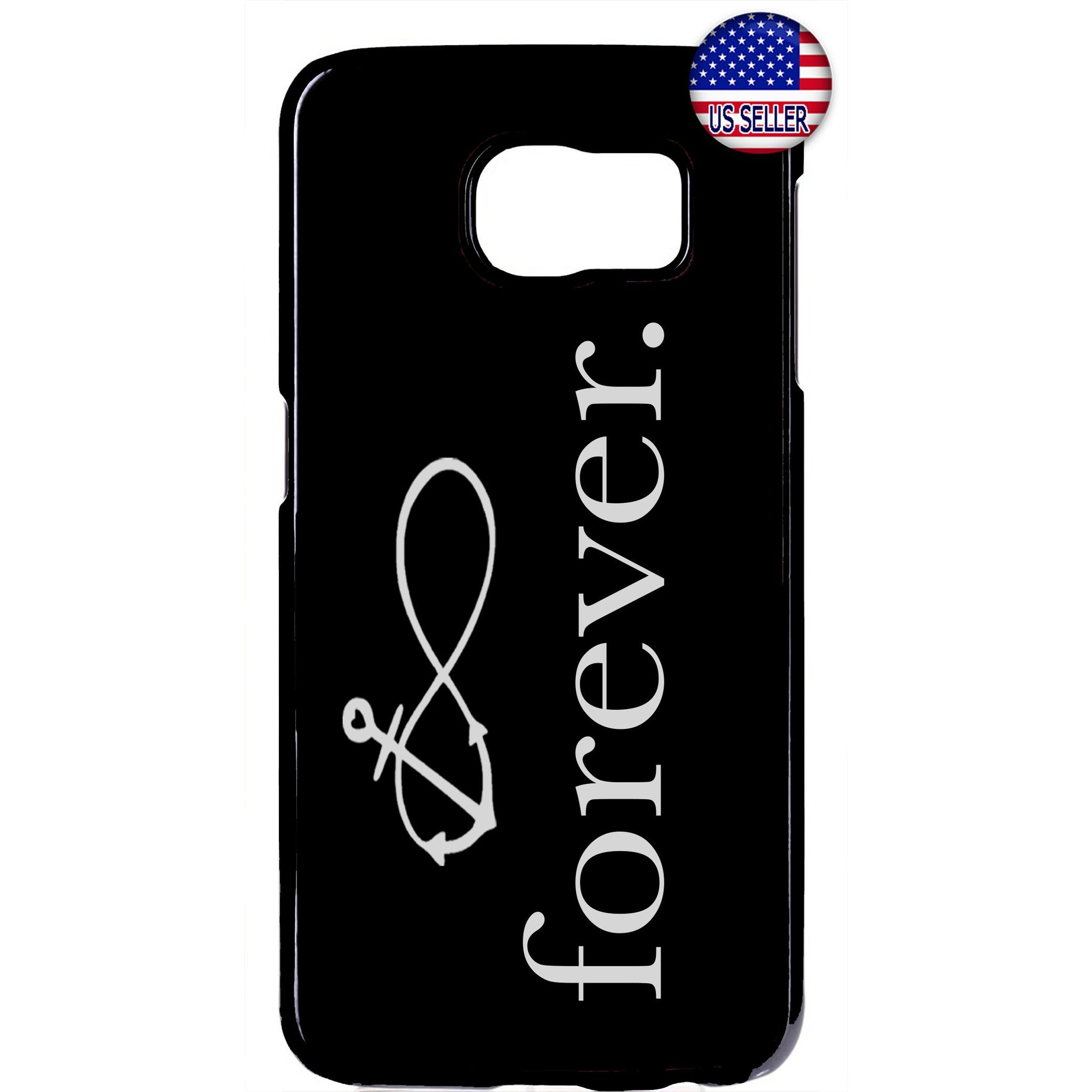 Anchor Infinite Forever Jesus Christ Rubber Case Cover For Samsung Galaxy