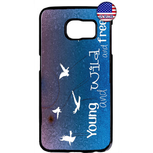 Young Wild Free Birds Rubber Case Cover For Samsung Galaxy