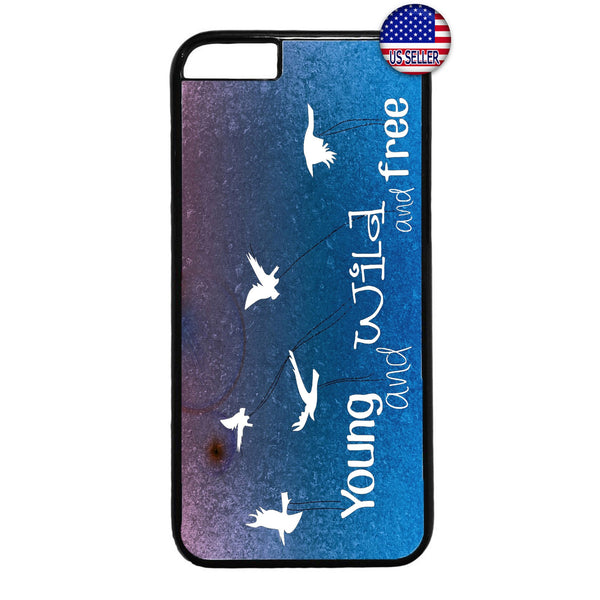 Young Wild Free Birds Rubber Case Cover For Iphone
