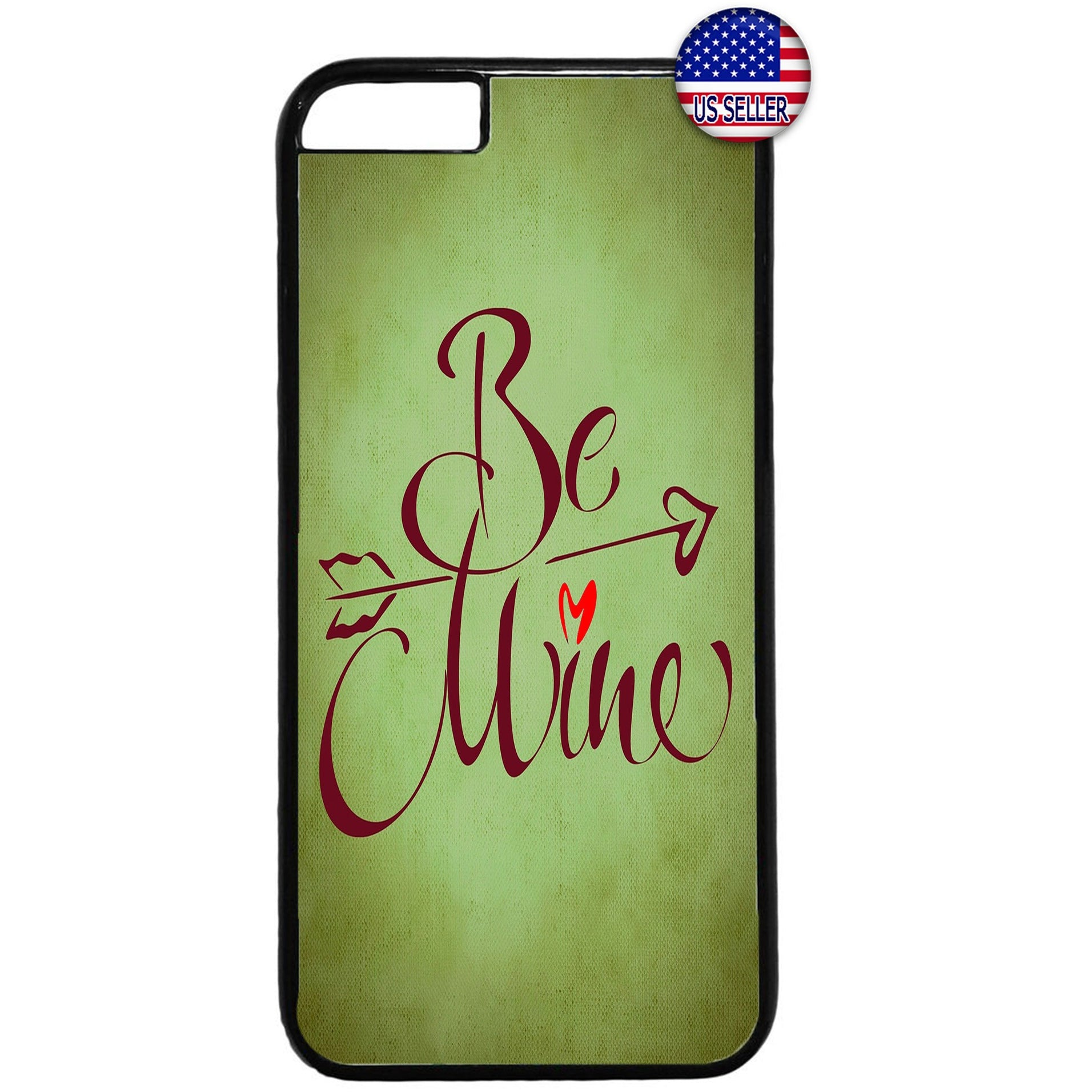 Be Mine Cupid Love Heart Valentine's Day Rubber Case Cover For Iphone