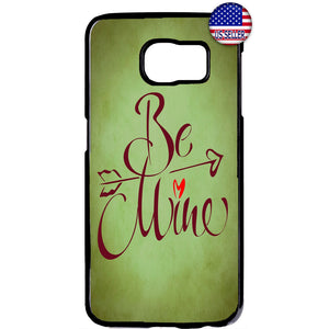 Be Mine Cupid Love Heart Valentine's Day Rubber Case Cover For Samsung Galaxy