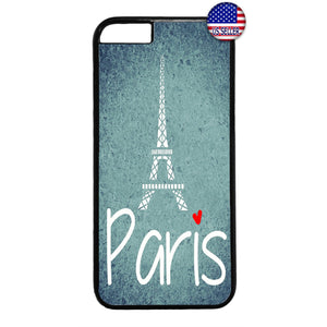 Love Paris France Eiffel Tower French Rubber Case Cover For Iphone