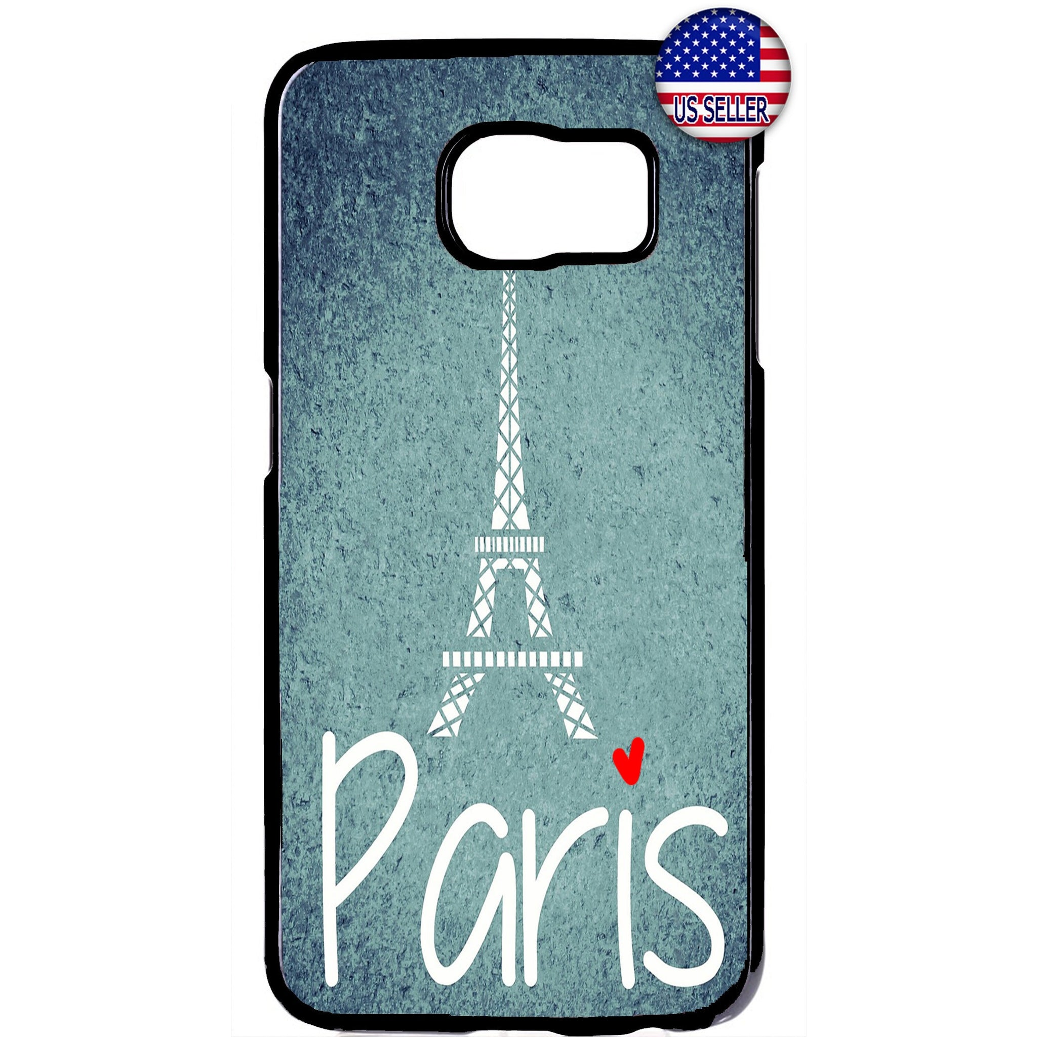 Love Paris France Eiffel Tower French Rubber Case Cover For Samsung Galaxy Note