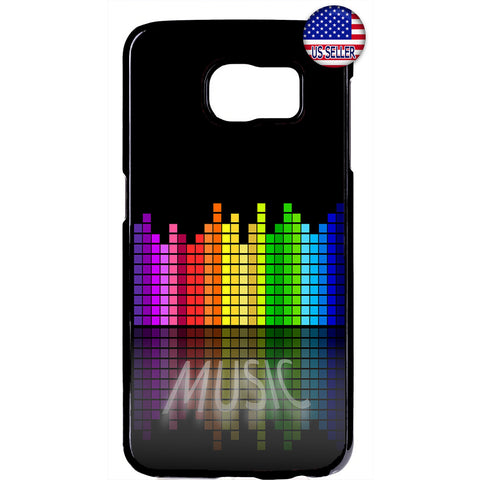 Bass Music Retro City Rubber Case Cover For Samsung Galaxy
