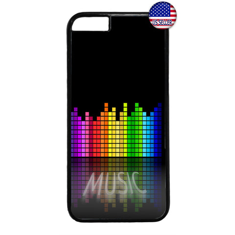 Bass Music Retro City Rubber Case Cover For Iphone