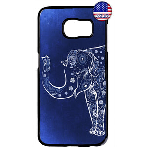 Elephant Lotus Floral Wild Africa Rubber Case Cover For Samsung Galaxy Note