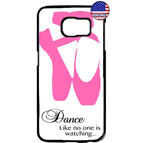 Ballet Dancer Ballerina Dance Shoes Rubber Case Cover For Samsung Galaxy