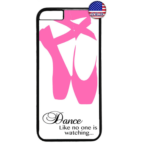 Ballet Dancer Ballerina Dance Shoes Rubber Case Cover For Iphone
