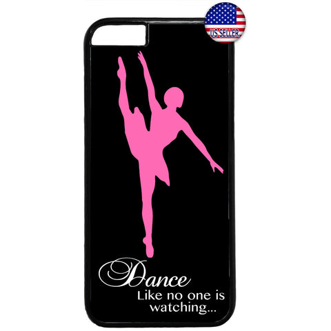 Dancing Ballerina Shoes Ballet Dancer Rubber Case Cover For Iphone
