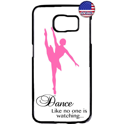 Ballet Dancing Ballerina Dance Shoes Rubber Case Cover For Samsung Galaxy