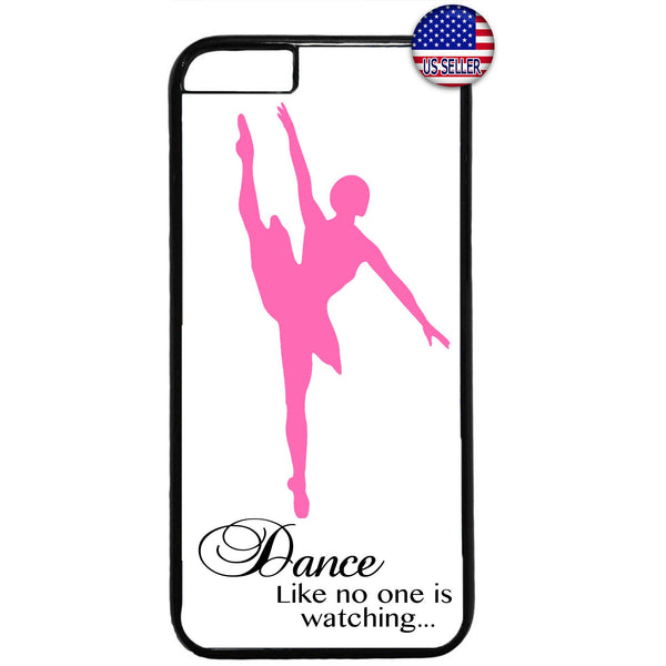 Ballet Dancing Ballerina Dance Shoes Rubber Case Cover For Iphone