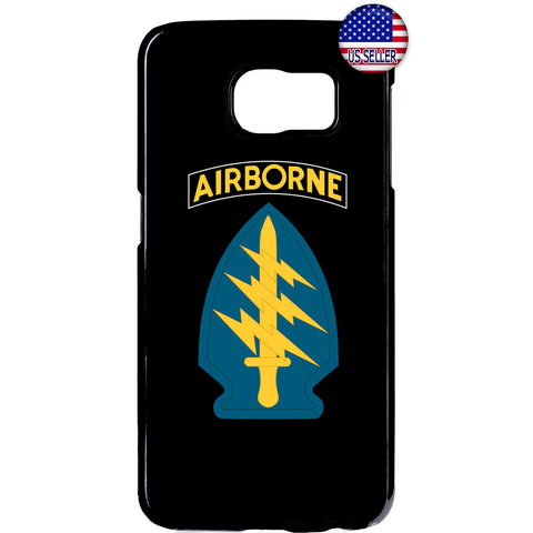 Sword US Airborne Destiny Military Force Rubber Case Cover For Samsung Galaxy