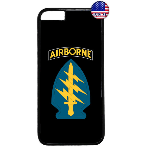 Sword US Airborne Destiny Military Force Rubber Case Cover For Iphone