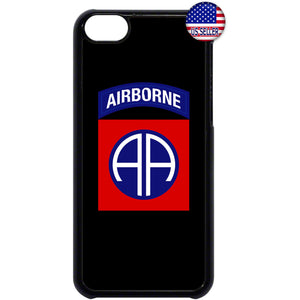 82nd US Airborne Destiny Military Force Rubber Case Cover For Ipod Touch
