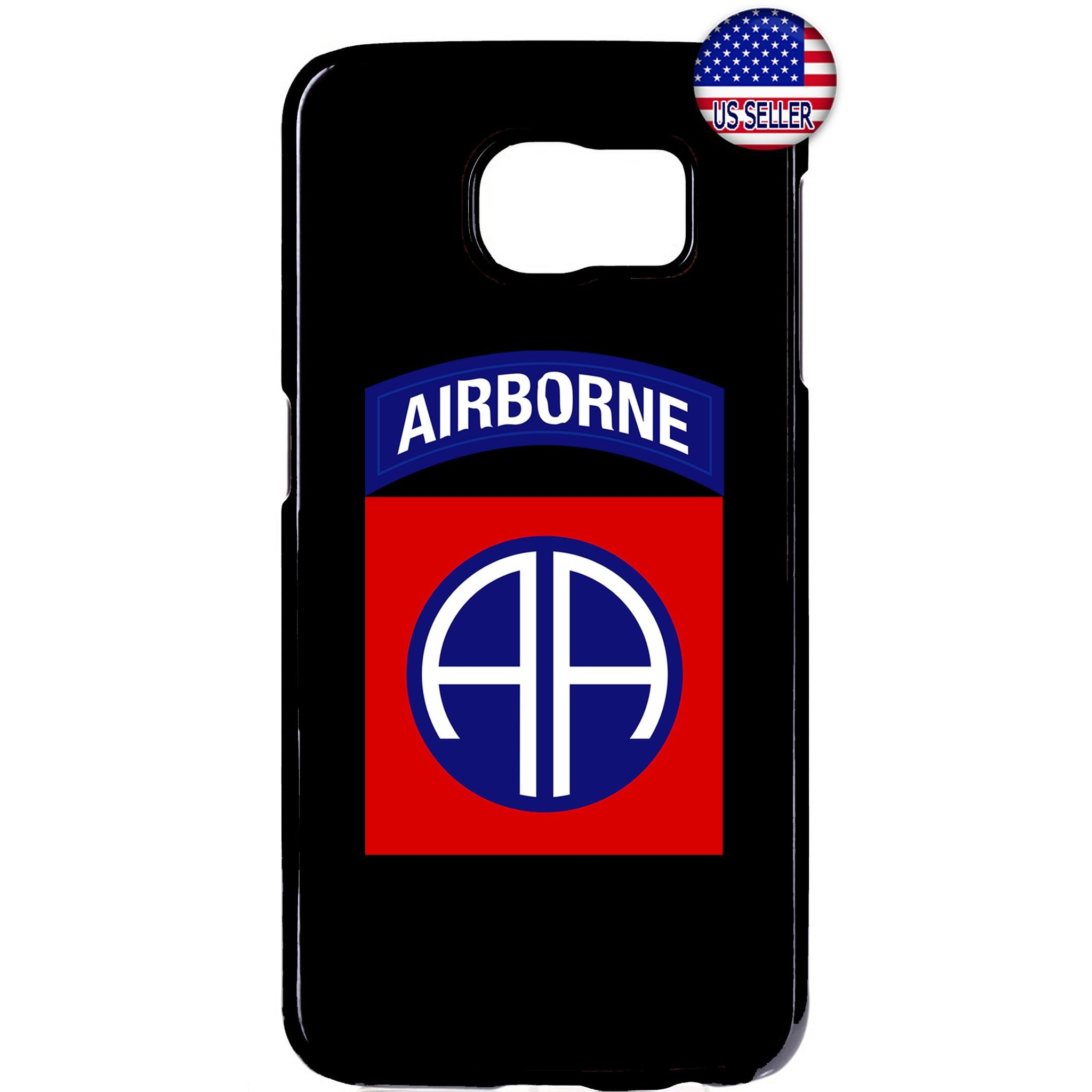 82nd US Airborne Destiny Military Force Rubber Case Cover For Samsung Galaxy