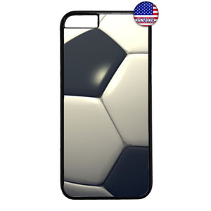 Soccer Ball Theme Futbol Sports Rubber Case Cover For Iphone