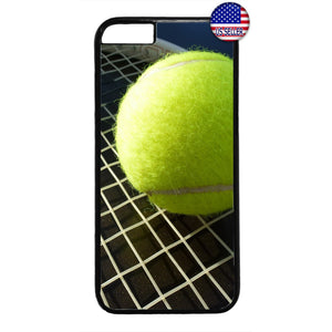 Tennis Ball & Racket Sports Rubber Case Cover For Iphone