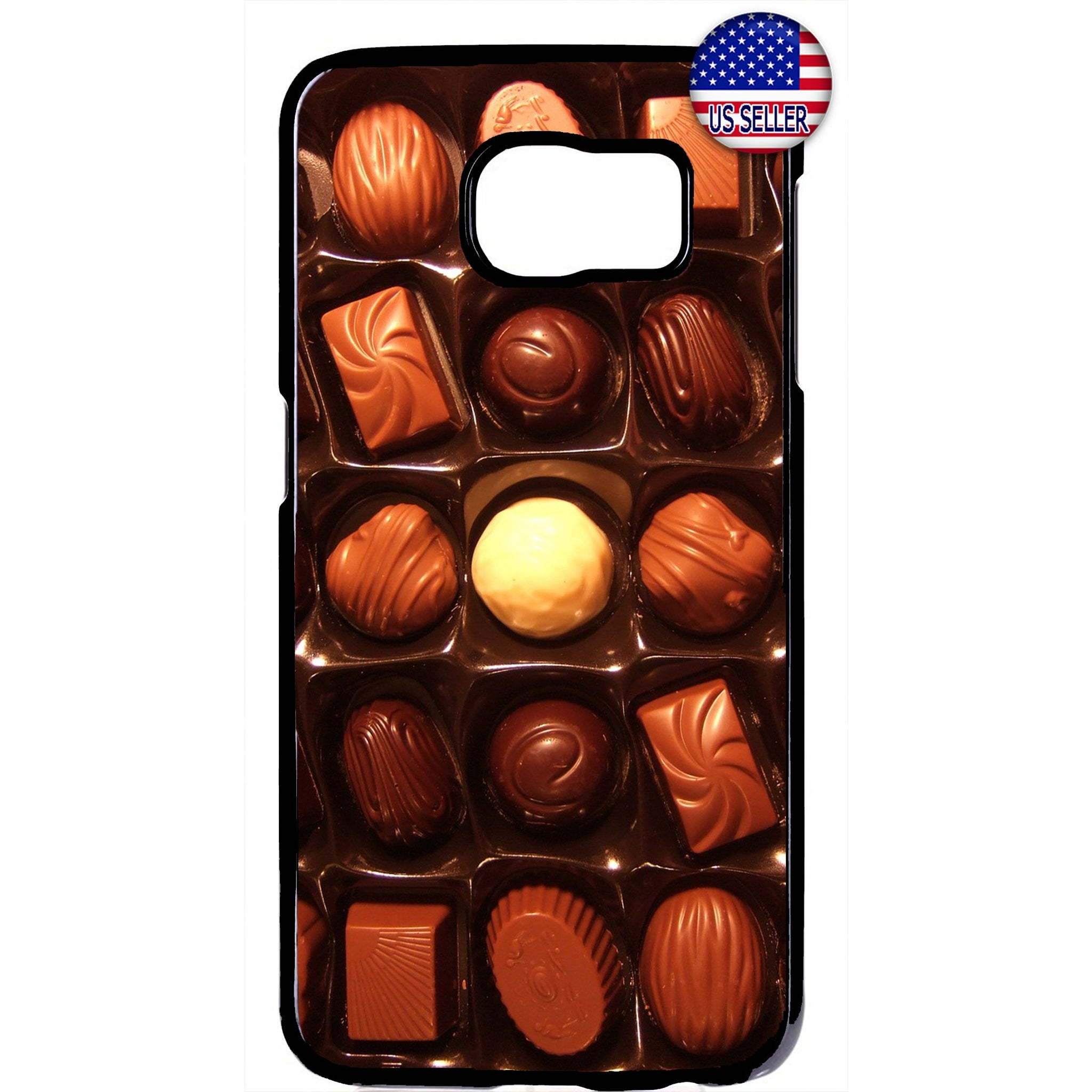 Tasty Box of Chocolates Rubber Case Cover For Samsung Galaxy