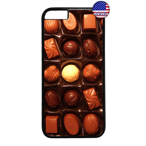 Tasty Box of Chocolates Rubber Case Cover For Iphone