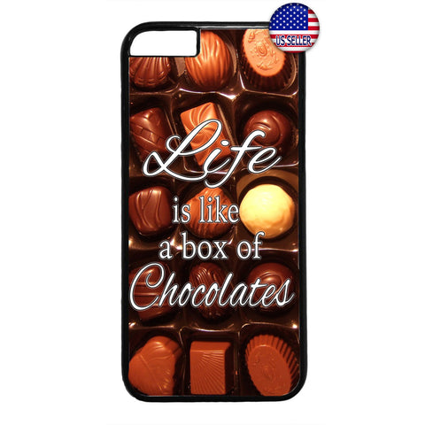 Box of Tasty Chocolates Rubber Case Cover For Iphone