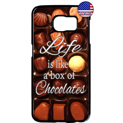 Box of Tasty Chocolates Rubber Case Cover For Samsung Galaxy