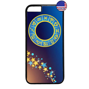 Zodiac Star Sign Astrology Galaxy Rubber Case Cover For Iphone