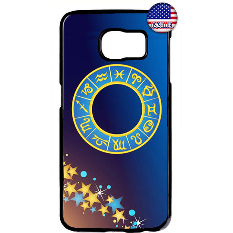 Zodiac Star Sign Astrology Galaxy Rubber Case Cover For Samsung Galaxy
