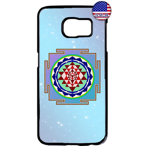 Sri Yantra Chakra Hindu Rubber Case Cover For Samsung Galaxy