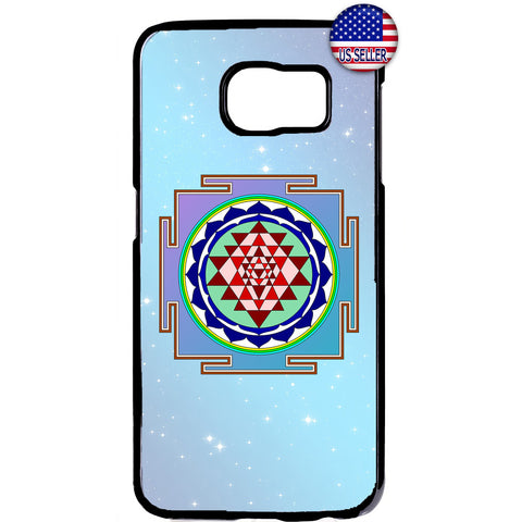 Sri Yantra Chakra Hindu Rubber Case Cover For Samsung Galaxy Note