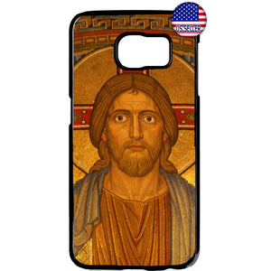 Savior Jesus Christ Cross Christian Rubber Case Cover For Samsung Galaxy