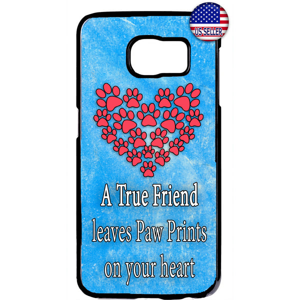 I Love My Pet Friend Paws Cats & Dogs Rubber Case Cover For Samsung Galaxy