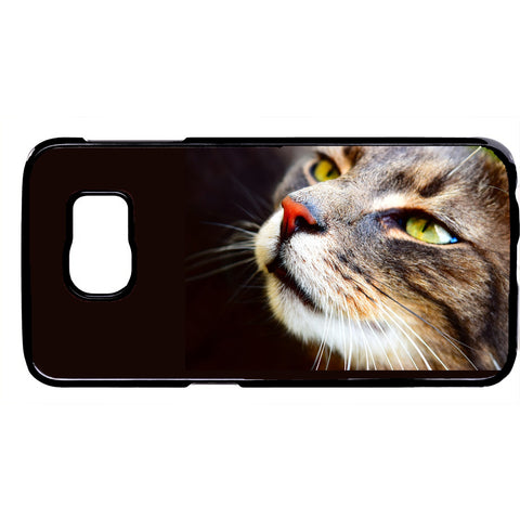 Cute Cat Face Kitty Kitten Pet Rubber Case Cover For Samsung Galaxy