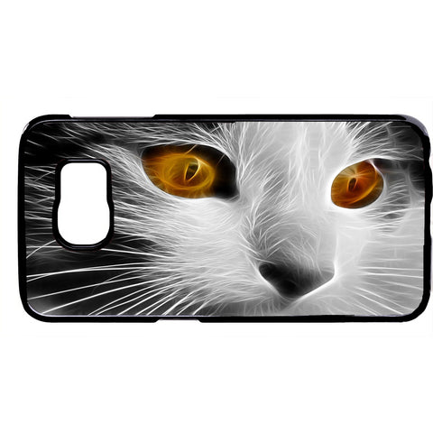 Pet Cute Cat Face Kitty Kitten Rubber Case Cover For Samsung Galaxy