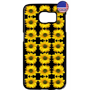 Sunflowers Pattern Life Garden Rubber Case Cover For Samsung Galaxy