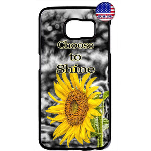 Shine Like Sunflower Garden Rubber Case Cover For Samsung Galaxy