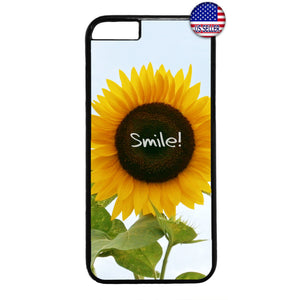 Smile Like A Sunflower Garden Rubber Case Cover For Iphone
