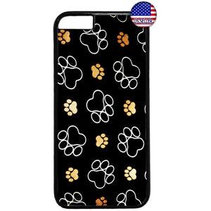 Paw Pet Dog & Cats Cute Kitty Animal Rubber Case Cover For Iphone